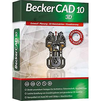 Markt & Technik Becker CAD 10 3D Full version, 1 license Windows CAD