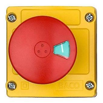 BACO LBX13102 Kill switch + caja 240 V AC 2.5 A 2 interruptores IP66 1 PC