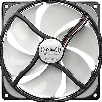NoiseBlocker NB-eLoop ITR-B12-PS PC fan White/black (W x H x D) 120 x 120 x 25 mm