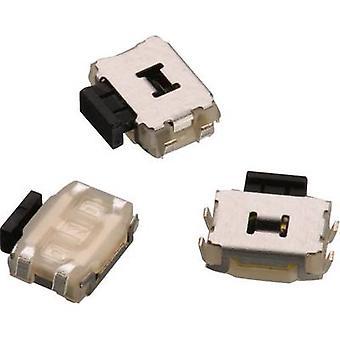 Würth Elektronik WS-TUS 434333045822 Pushbutton 12 Vdc 0.05 A 1 x Off/(On) momentary 1 pc(s)