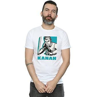 Star Wars Men's Rebels Kanan T-Shirt