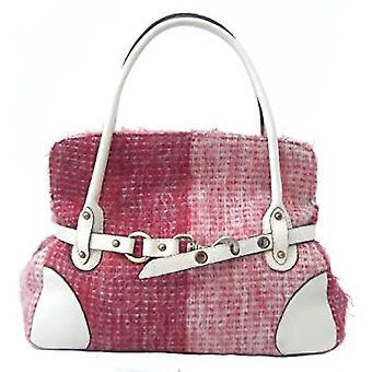 Mohair Handbag R (Red)