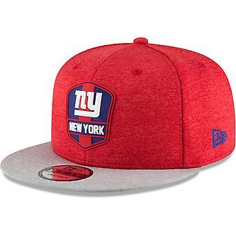 Nowa era Snapback Cap - linii bocznej od New York Giants