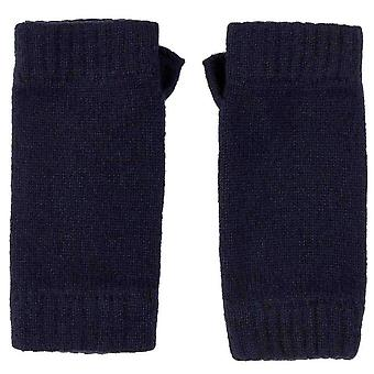 Johnstons of Elgin Wrist Warmer Gloves - Navy