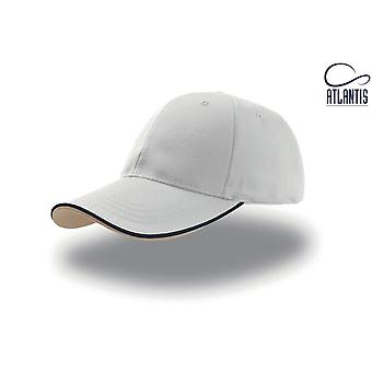 Atlantis Zoom Piping Sandwich Sports 6 Panel Contrast Baseball Cap