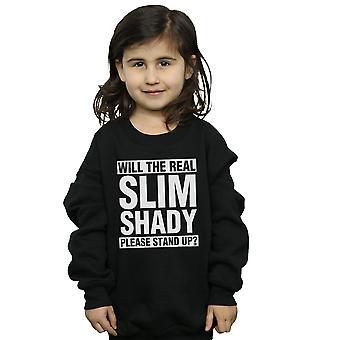 Eminem Mädchen Real Slim Shady Sweatshirt