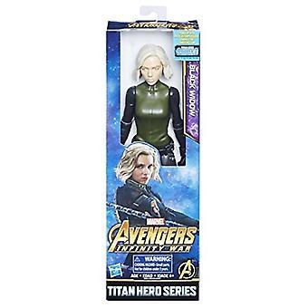 Avengers Marvel Infinity War Titan Hero Series Black Widow with Titan Hero Power FX Port