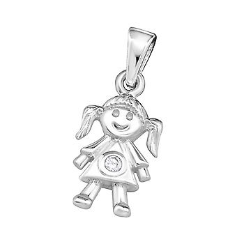 Menina-925 Sterling Silver jewelled pingentes-W18764X