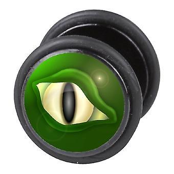 Fake Cheater Ear Plug, Earring, Body Jewellery, Eye