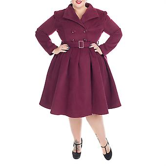 H&R Wine Vintage Swing Coat 24
