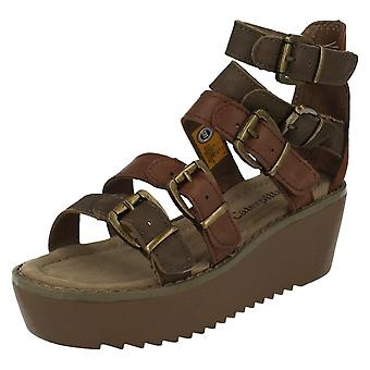 Ladies Cat Platform Sandals Penny