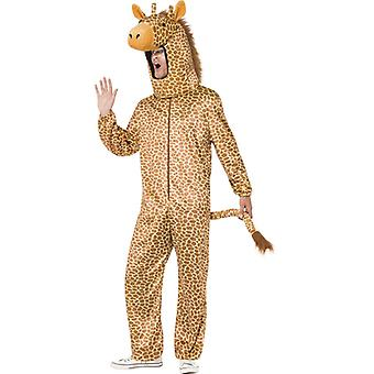 Giraffe costume Orange Bodysuit with hood