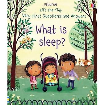 Very First Lift-the-Flap Questions & Answers What is Sleep? by Ve