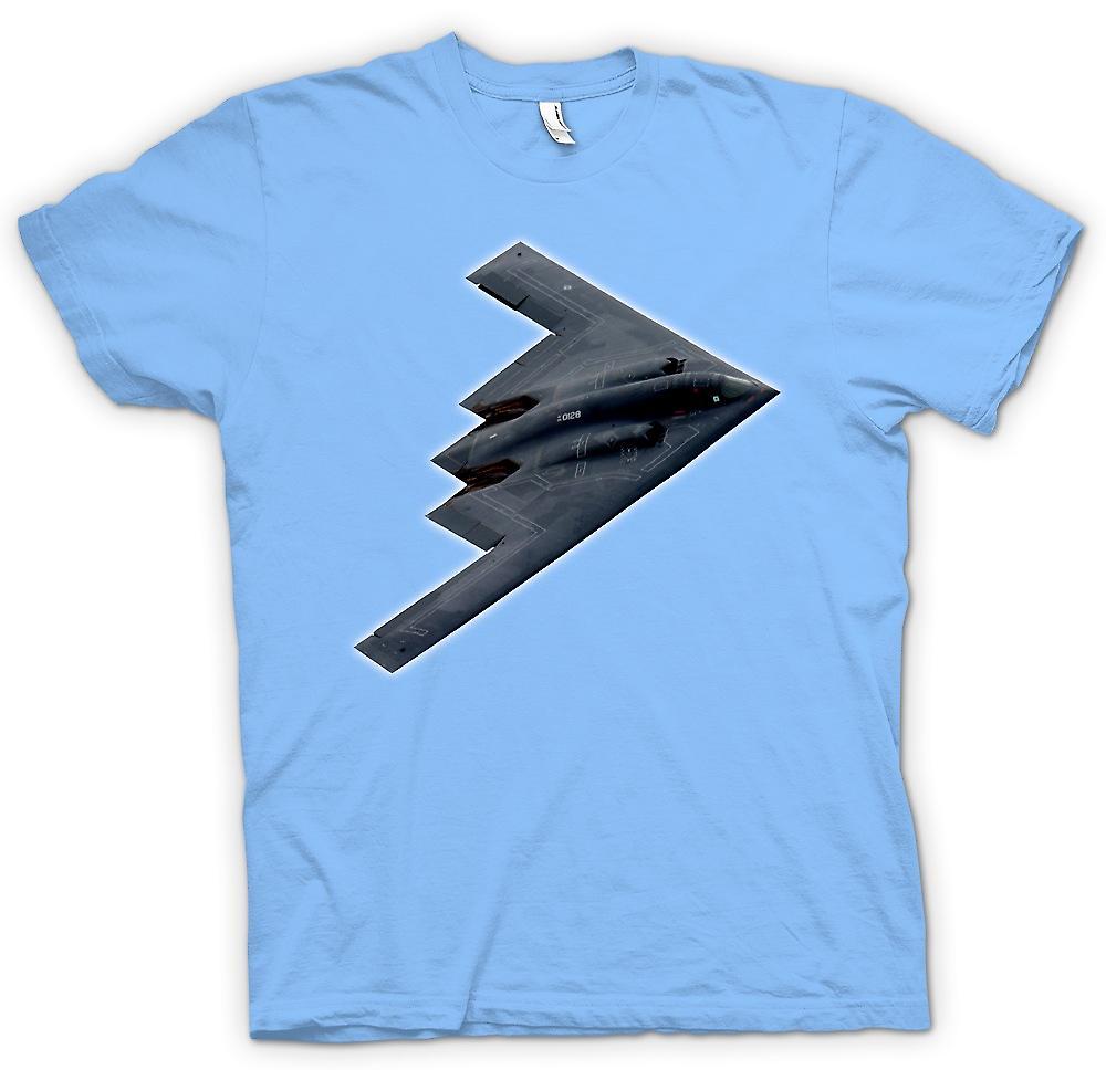 Mens t-skjorte - Northrop Grumman B-2 ånd - B2 Bomber