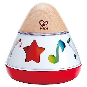 Hape HAP-E0332 Rotating Music Box, Multi-Colour, 40 x 40 cm