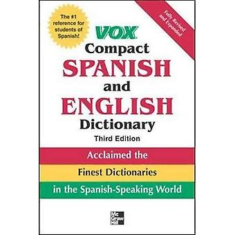 Vox Compact Spanish and English Dictionary, 3E (PB) (Vox Dictionary Series)