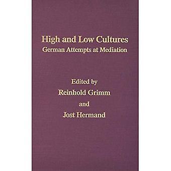 Cultures de haute et basse