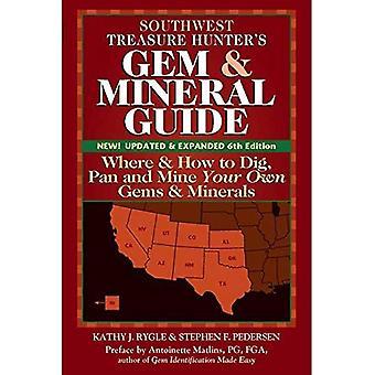 Südwesten Treasure Hunter-s Gem & Mineral Guides in die USA