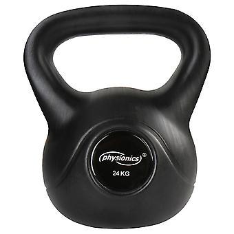 Kettlebell haltère poids musculation haltérophilie exercices gym 24 kg 0701145