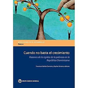 Cuando keine Basta el Crecimiento: Gründe De La Rigidez De La población de la Republica Dominicana (Richtungen in Entwicklung - Armut)