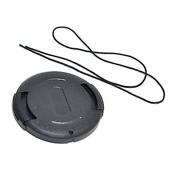 Dot.Foto 43mm Snap On Lens Cap with string / leash for JVC Everio GZ-HD5, GZ-HD6, GZ-HD10, GZ-HD30, GZ-HD40, GZ-MG530, GZ-MG730