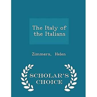ヘレン ・ ジマーンによってイタリア人学者チョイス版のイタリア