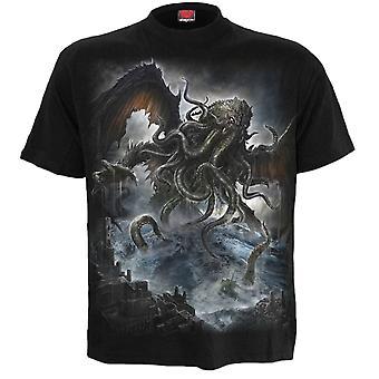 Spiral Cthulhu T-Shirt M