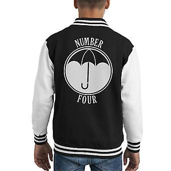 Umbrella Academy Number Four Kid's Varsity Jacket