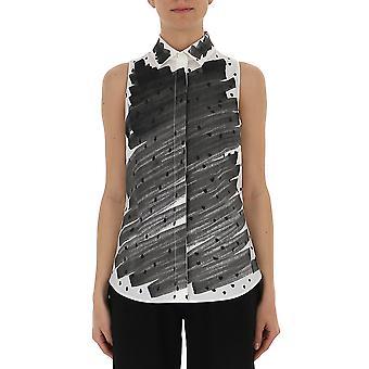 Camiseta de algodón negro de Moschino