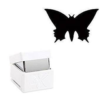 Docrafts Small Palm Punch - Pointed Butterfly (XCU 261605)