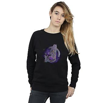 Marvel Women es Avengers Endgame Space Logo Sweatshirt