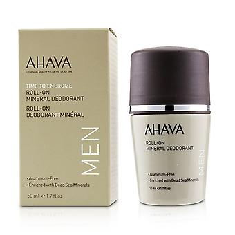 Ahava Time To Energize Roll-on Mineral Deodorant - 50ml/1.7oz