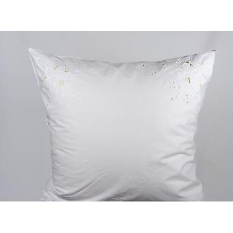 Hossner pillow parade pillow Palermo Richelieu embroidery shabby look 80x80cm