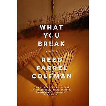 What You Break - A Gus Murphy Novel by Reed Farrel Coleman - 978042528