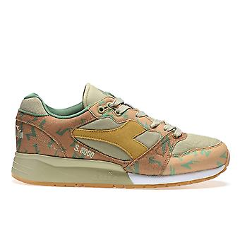 Diadora Camouflage Leather Sneakers