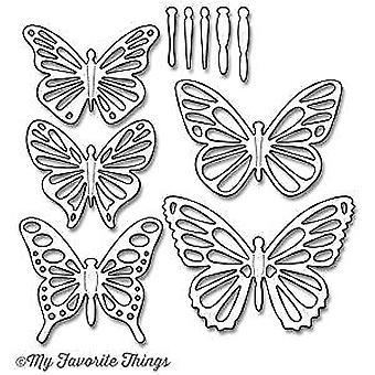 My Favorite Things Die-namics Flutter Of Butterflies Lace (MFT-704)