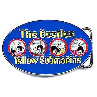 The Beatles Belt Buckle Yellow Submarine Portholes Blue nouvelle Meta officielle;