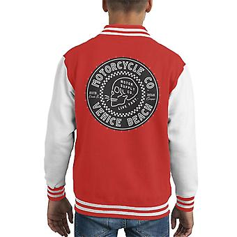 Divide & Conquer Venice Beach Motorcycle Co Kid's Varsity Jacket