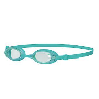 Speedo Jet Senior dame damer UV Anti Fog svømning beskyttelsesbriller - klar/krikand