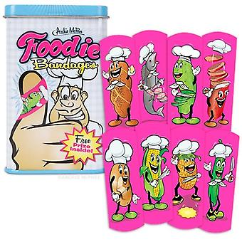 Character Goods - Archie McPhee - Bandage - Foodie w/Tin 12436