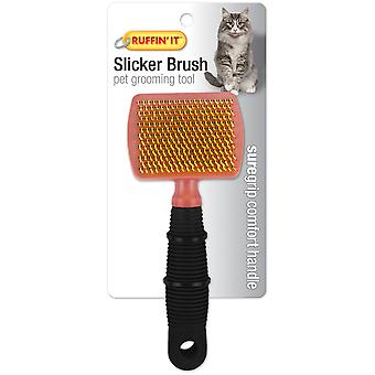 Soft Grip Cat Slicker Brush- 19793
