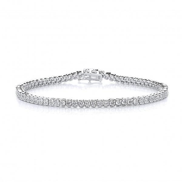 Cavendish French CZ Circles Tennis Bracelet