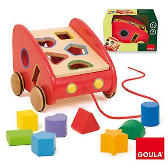 Goula Drag car (Toys , Preschool , Puzzles And Blocs)