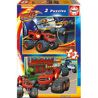 Educa Puzzle Blaze 2x48 Pieces (Speelgoed , Bordspellen , Puzzels)