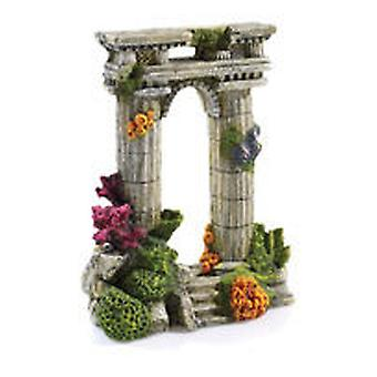 Classic For Pets Twin Column Ruin 210mm (Fish , Decoration , Ornaments)