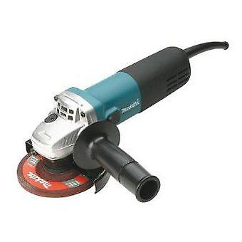 Makita Miniamoladora 840W Ø 115mm. 11,000 rpm. Antirestart 9557NBR