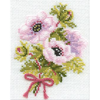 Anemones Counted Cross Stitch Kit-5