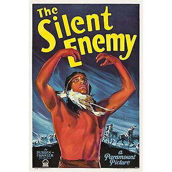 The Silent Enemy Movie Poster (11 x 17)