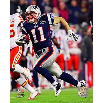 Julian Edelman 2011 Action Photo Print