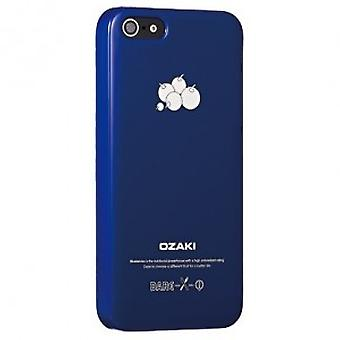 Ozaki OC537BB O! Coat fruit BlueBerry cover case iPhone 5 / 5S - blue